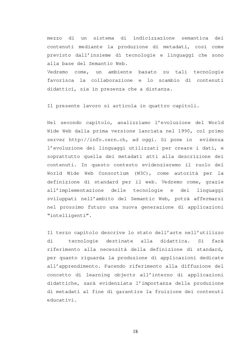 Anteprima della tesi: La catalogazione semantica dei contenuti didattici, Pagina 13
