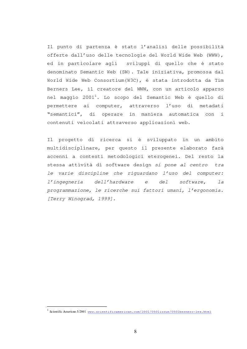 Anteprima della tesi: La catalogazione semantica dei contenuti didattici, Pagina 3