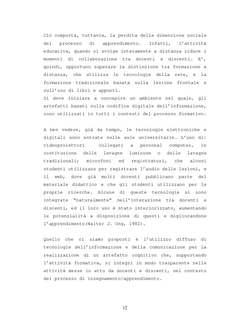 Anteprima della tesi: La catalogazione semantica dei contenuti didattici, Pagina 7