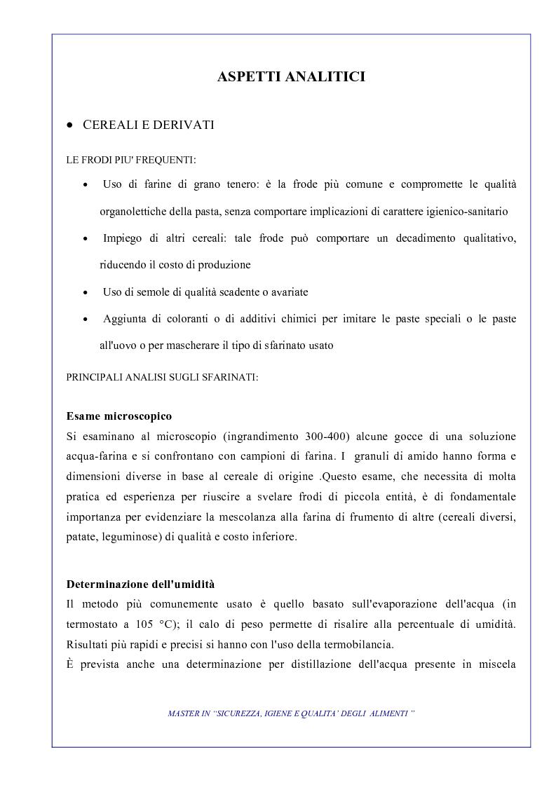 Anteprima della tesi: L'attività di controllo nelle frodi alimentari: aspetti analitici e gestionali, Pagina 4