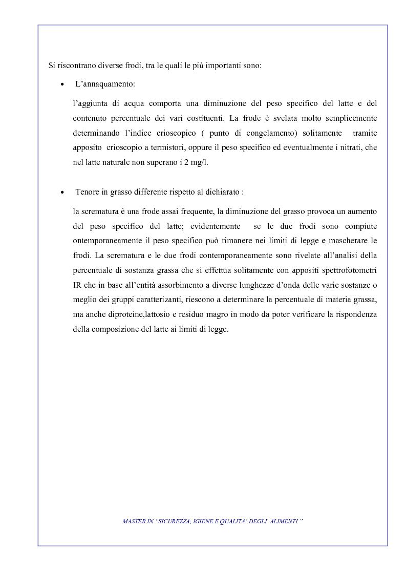 Anteprima della tesi: L'attività di controllo nelle frodi alimentari: aspetti analitici e gestionali, Pagina 8