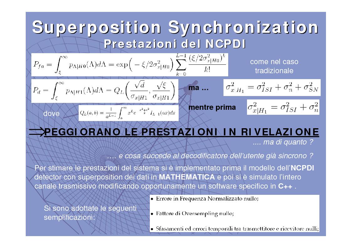 Anteprima della tesi: Tecniche di sincronizzazione di trama congiunta al trasporto di informazione, Pagina 10