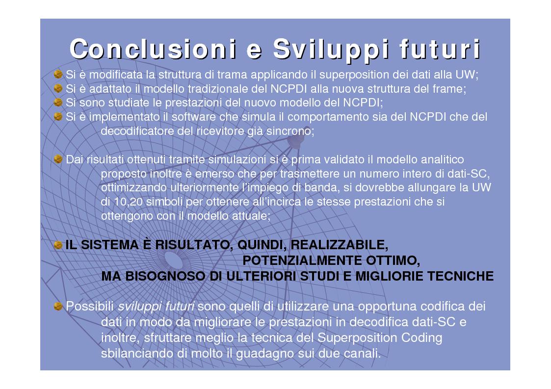 Anteprima della tesi: Tecniche di sincronizzazione di trama congiunta al trasporto di informazione, Pagina 16