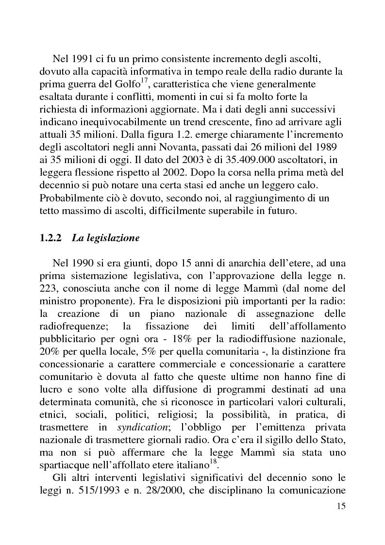 Anteprima della tesi: Radio Futuro. Tecnologie digitali e recupero della memoria. Il caso Rai-Radioscrigno, Pagina 11
