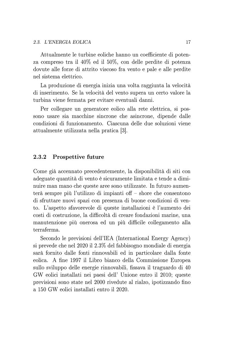 Anteprima della tesi: Utilizzo della Tecnologia Superconduttiva per la Connessione di Generatori Eolici alla Rete di Trasmissione in Corrente Alternata., Pagina 10