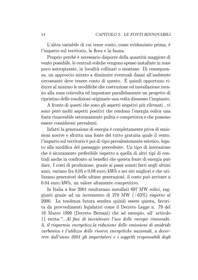 Anteprima della tesi: Utilizzo della Tecnologia Superconduttiva per la Connessione di Generatori Eolici alla Rete di Trasmissione in Corrente Alternata., Pagina 7