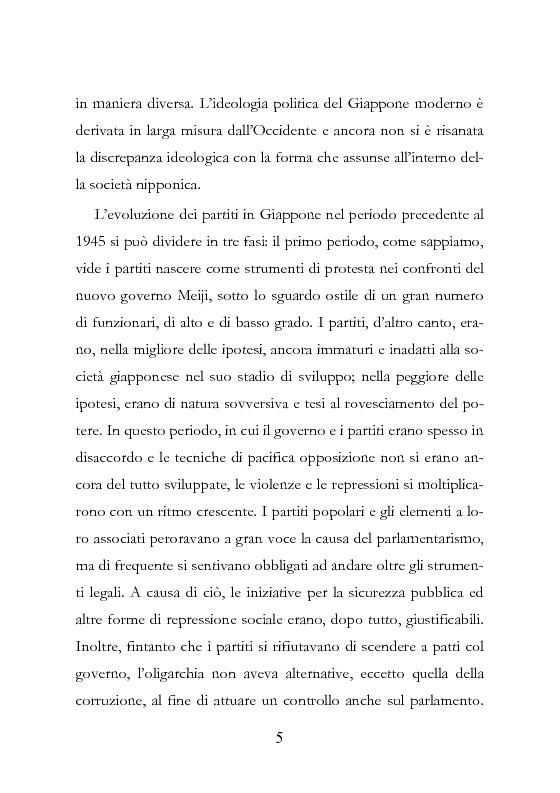 Anteprima della tesi: Democrazia Incompiuta: Analisi delle Difficoltà del Bipolarismo in Giappone, Pagina 14