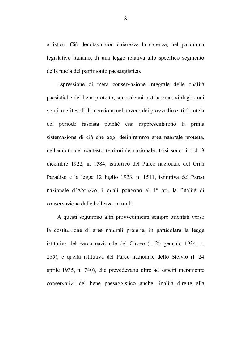 Anteprima della tesi: La tutela dei beni culturali e gli strumenti di pianificazione urbanistica, Pagina 8