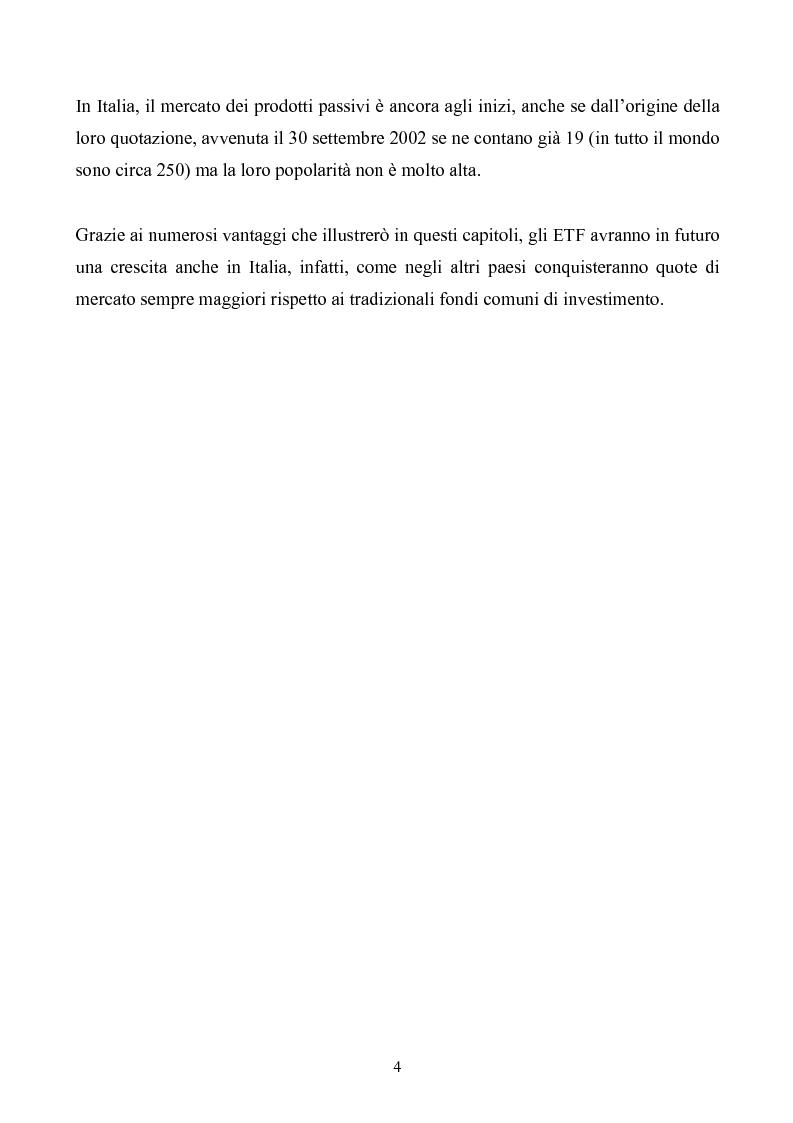 Anteprima della tesi: ETF-fondi a gestione passiva, Pagina 2