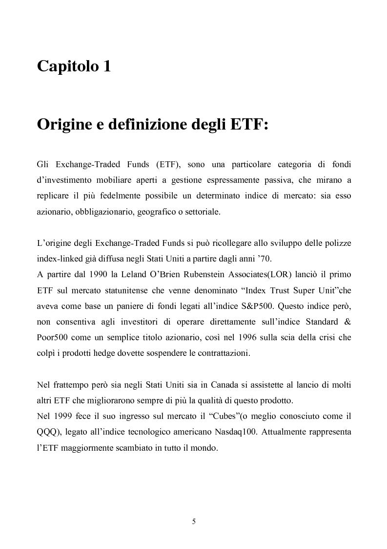 Anteprima della tesi: ETF-fondi a gestione passiva, Pagina 3