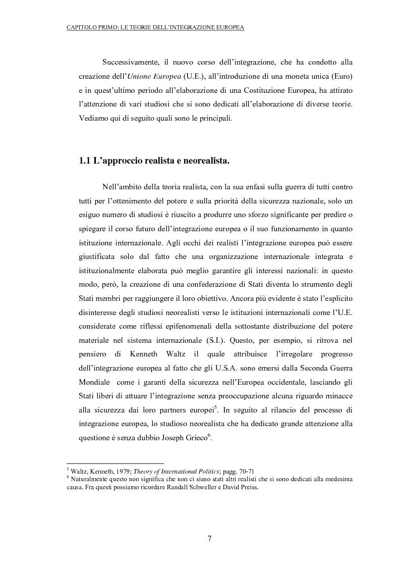 Anteprima della tesi: La politica commerciale europea: un'analisi di principal-agent theory, Pagina 5
