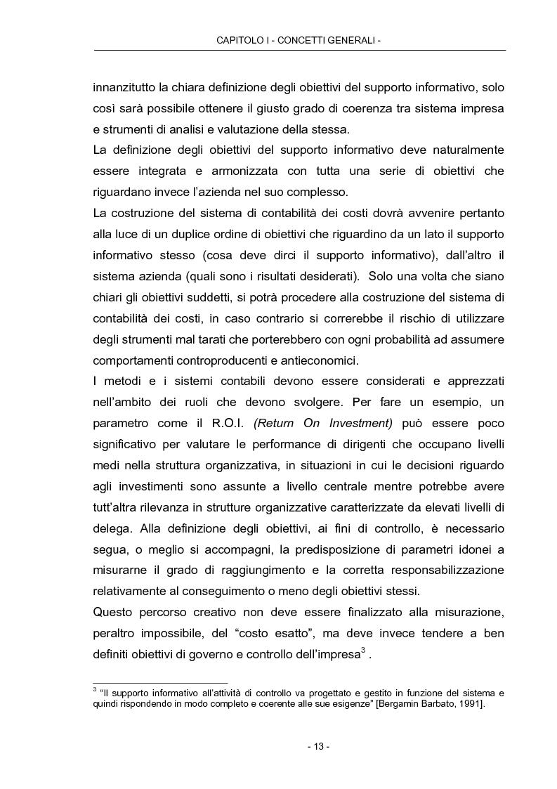 Anteprima della tesi: Cost Management: il caso Beta Plastics, Pagina 13