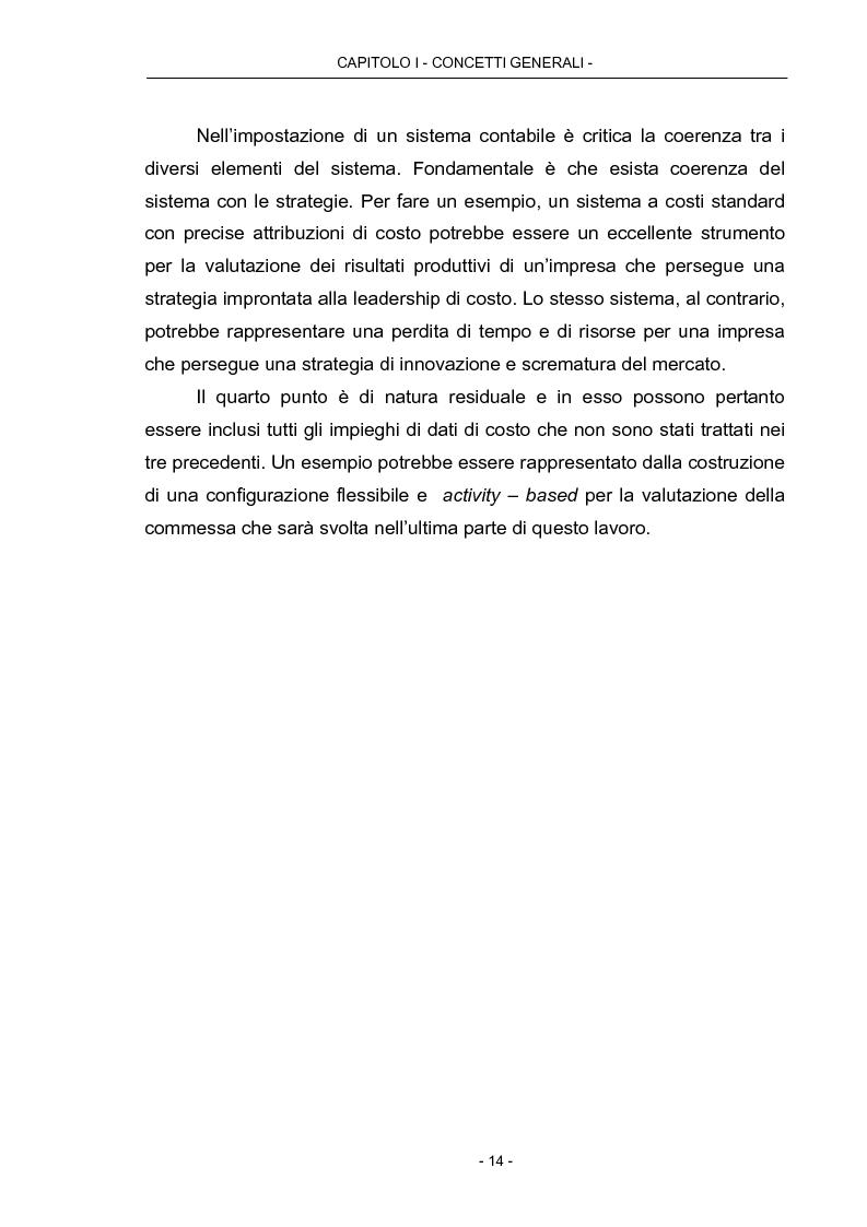 Anteprima della tesi: Cost Management: il caso Beta Plastics, Pagina 14