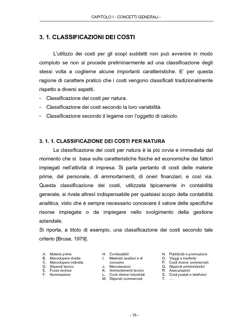 Anteprima della tesi: Cost Management: il caso Beta Plastics, Pagina 15
