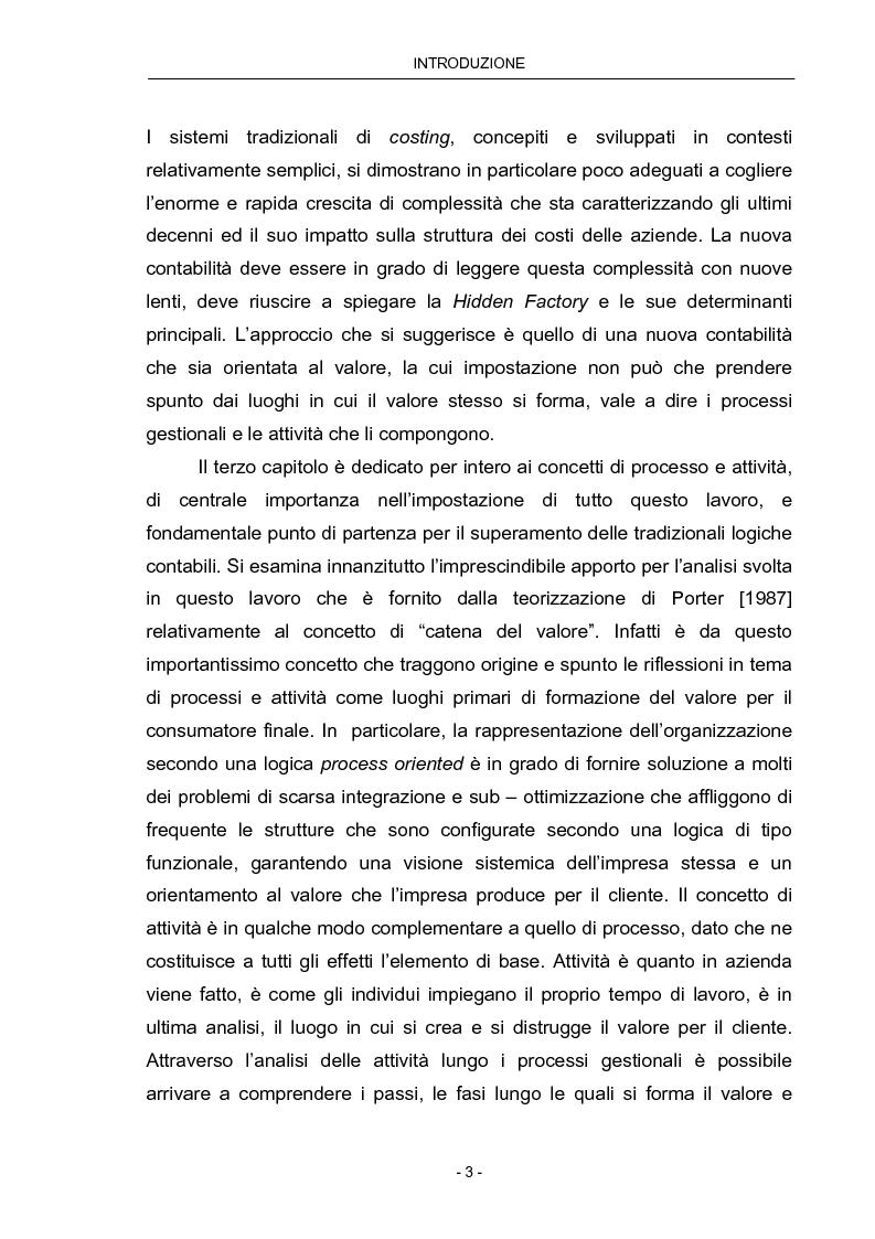 Anteprima della tesi: Cost Management: il caso Beta Plastics, Pagina 3
