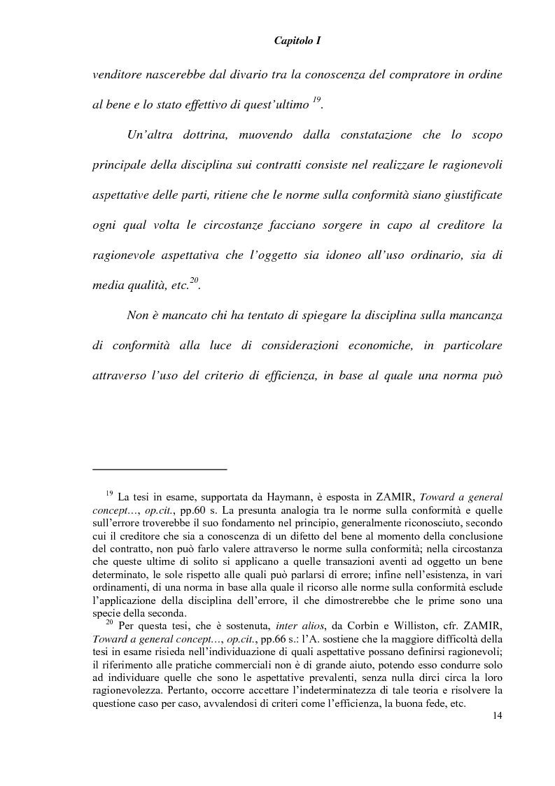 Anteprima della tesi: L' obbligazione di conformità dei beni nella compravendita internazionale, Pagina 16