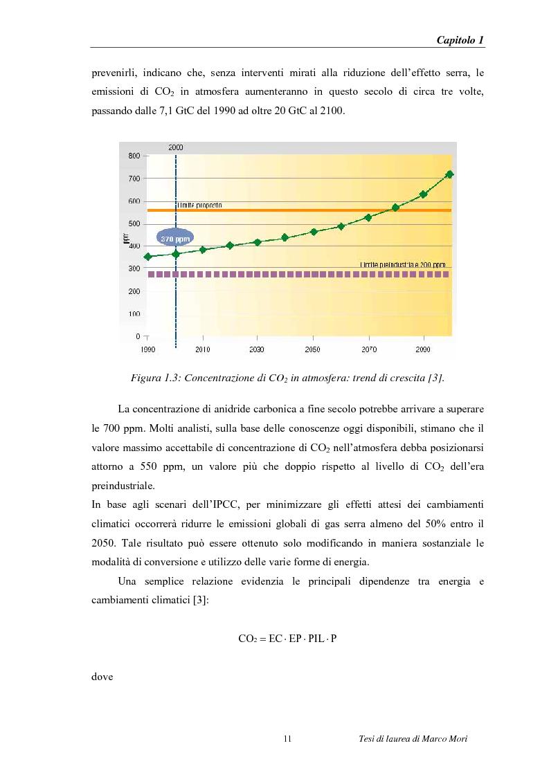 Anteprima della tesi: Produzione di energia elettrica distribuita da impianti di gassificazione, Pagina 11