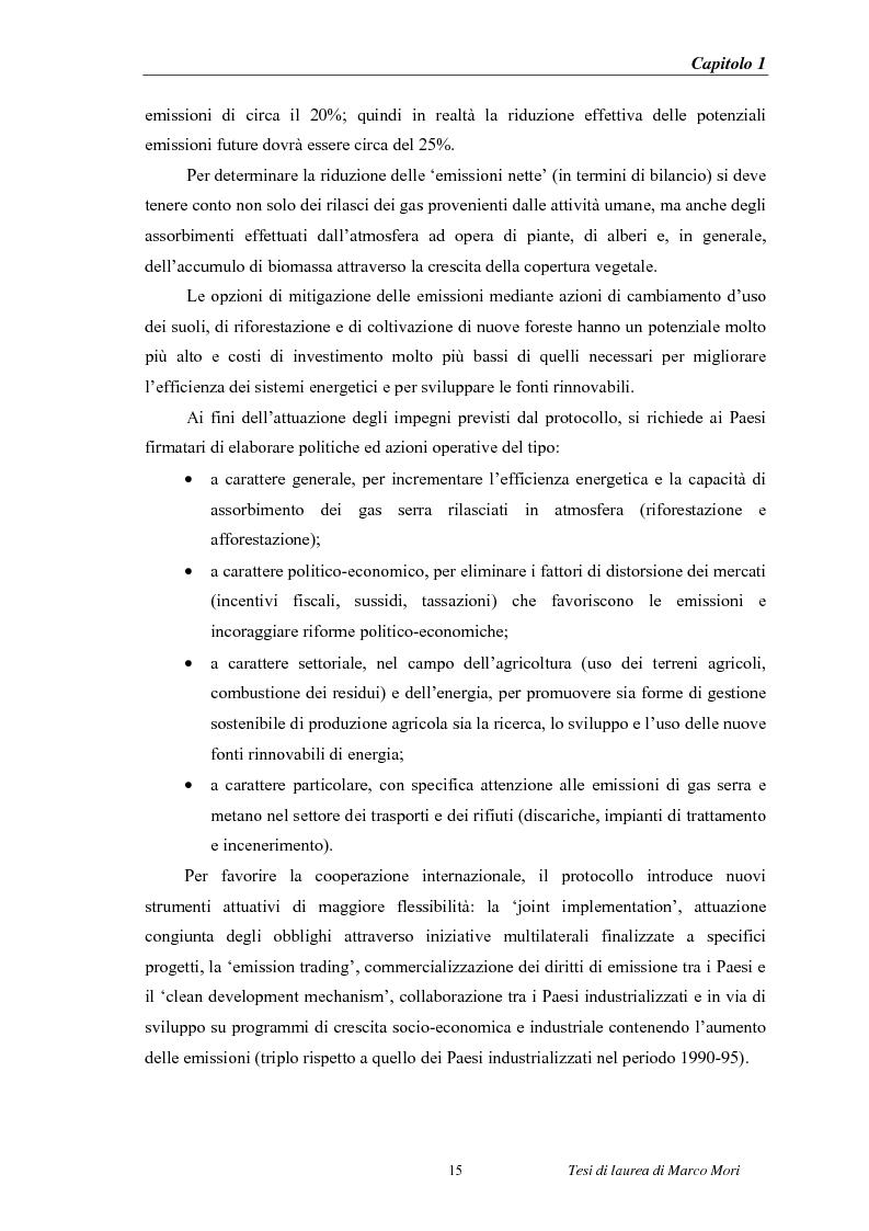 Anteprima della tesi: Produzione di energia elettrica distribuita da impianti di gassificazione, Pagina 15