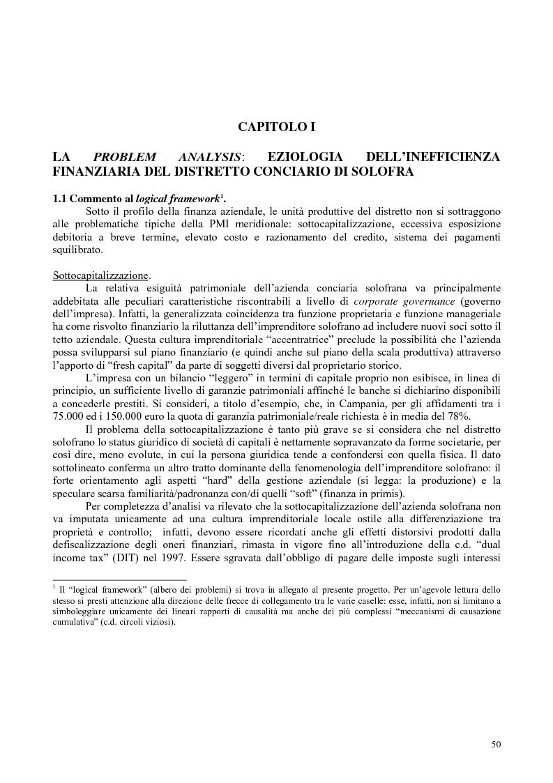 Anteprima della tesi: Il distretto industriale di Solofra: analisi di un sistema locale territoriale e progettazione per lo sviluppo., Pagina 1