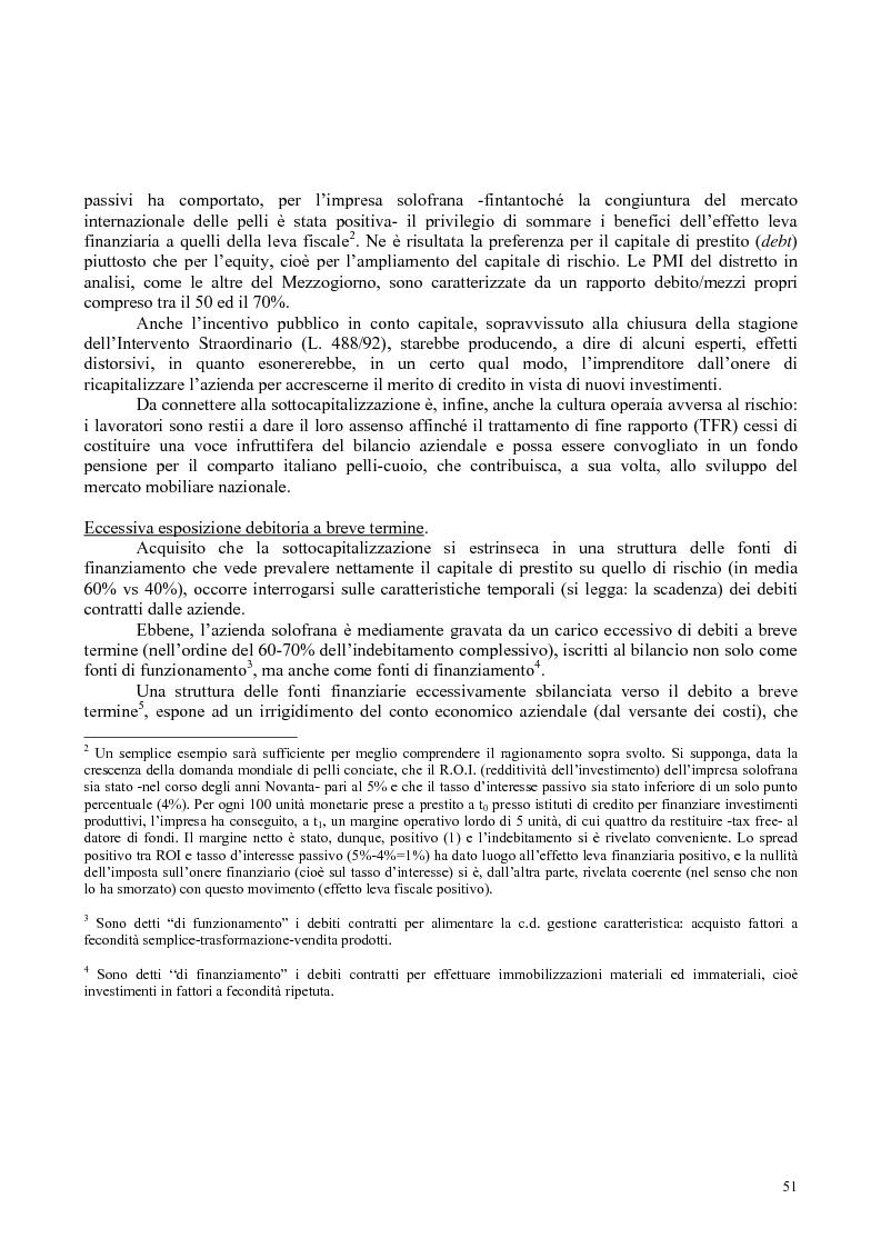 Anteprima della tesi: Il distretto industriale di Solofra: analisi di un sistema locale territoriale e progettazione per lo sviluppo., Pagina 2