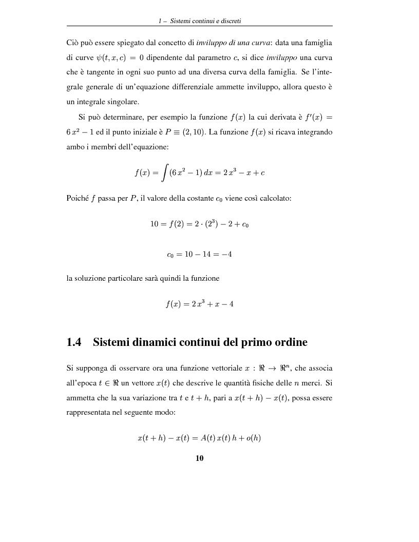 Anteprima della tesi: Sistemi dinamici: questioni di stabilità ed applicazioni economiche, Pagina 13