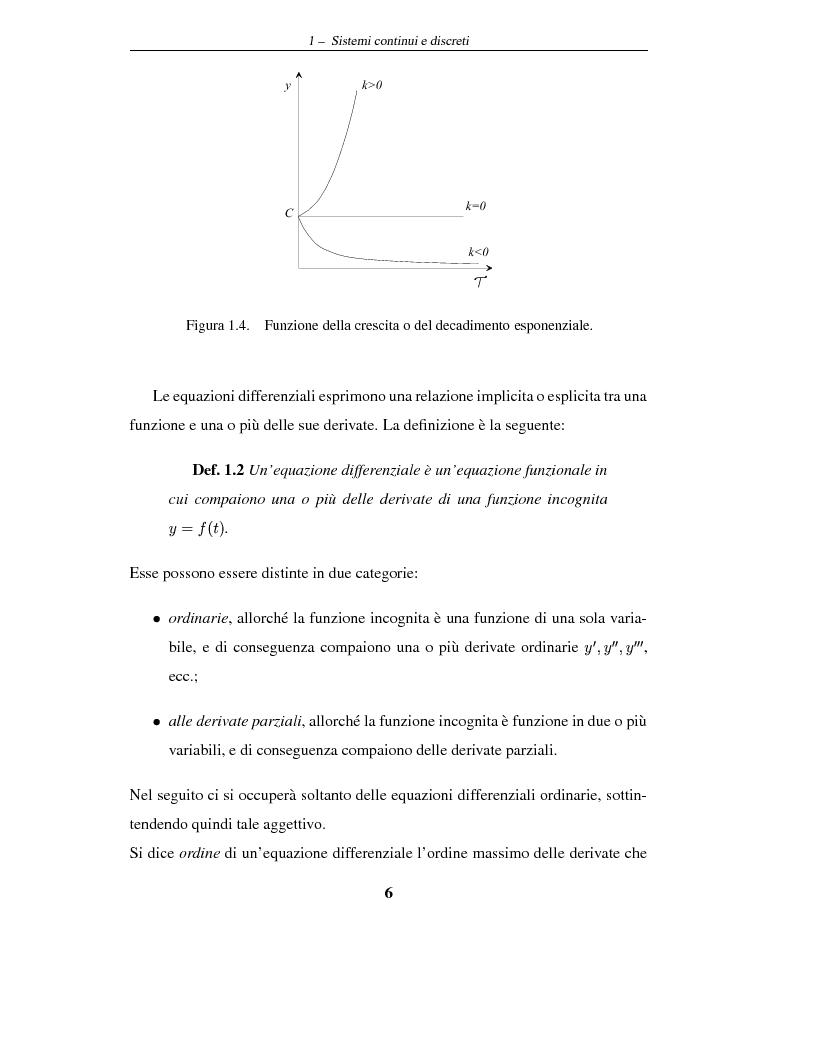 Anteprima della tesi: Sistemi dinamici: questioni di stabilità ed applicazioni economiche, Pagina 9