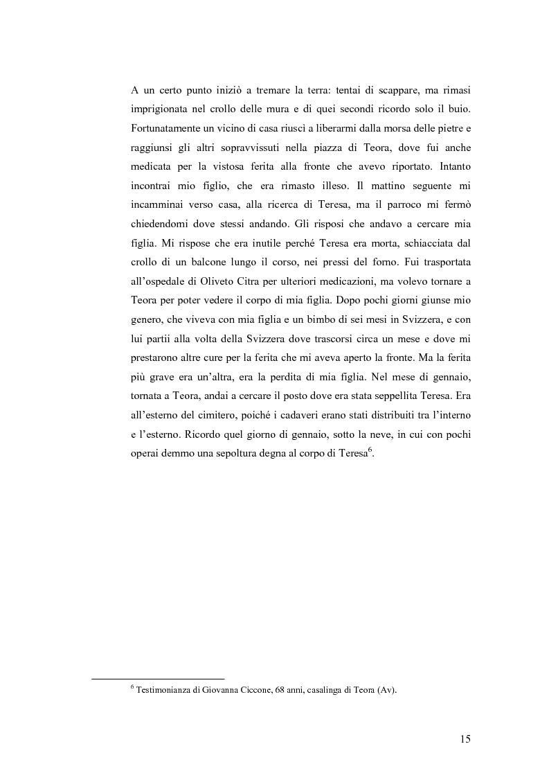 Anteprima della tesi: Irpinia storia e memoria del terremoto, Pagina 12