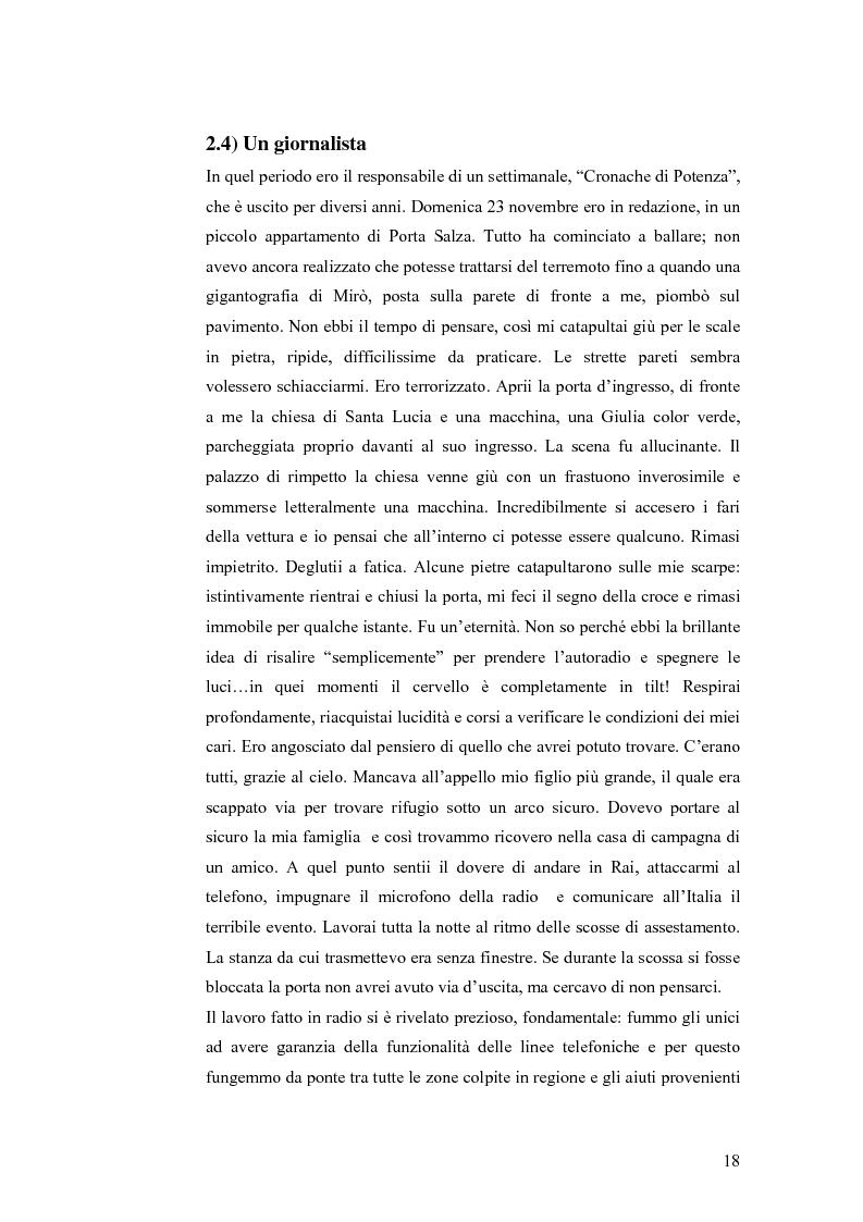 Anteprima della tesi: Irpinia storia e memoria del terremoto, Pagina 15