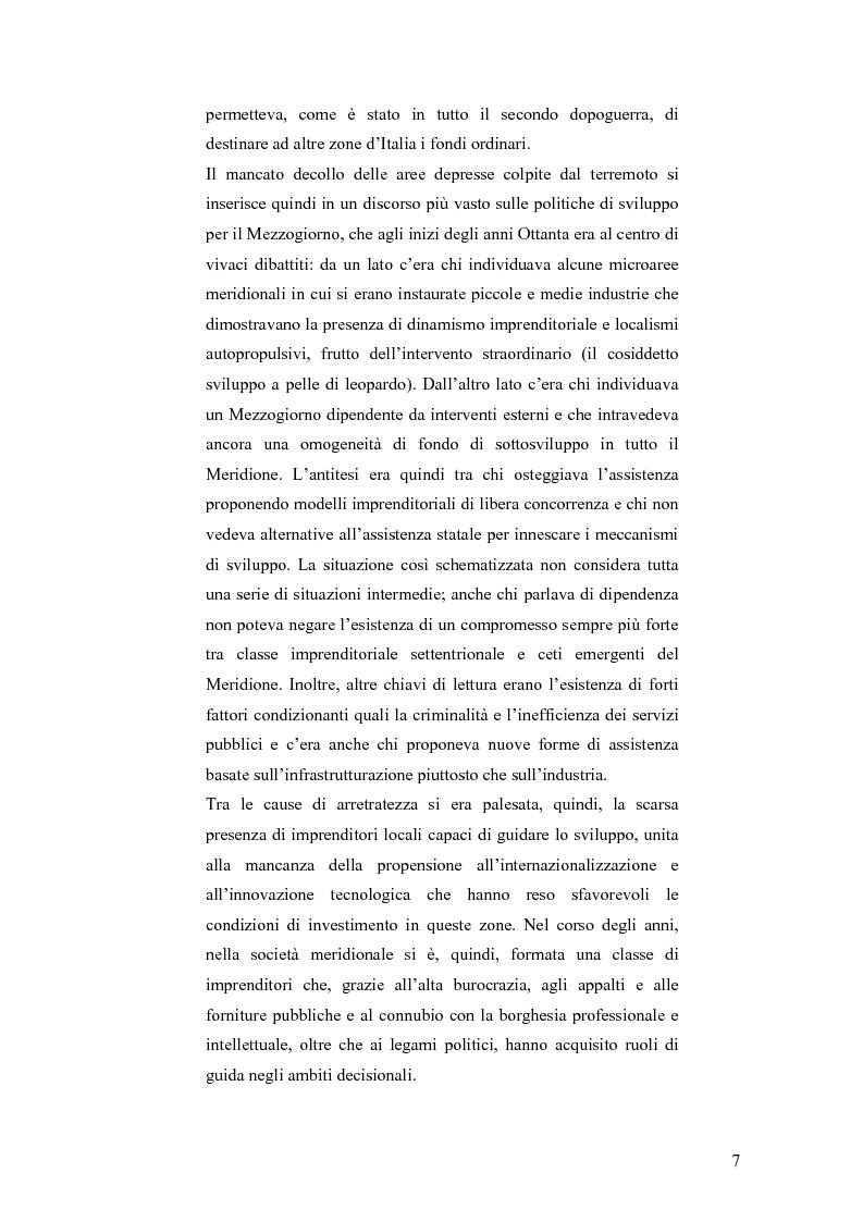 Anteprima della tesi: Irpinia storia e memoria del terremoto, Pagina 4
