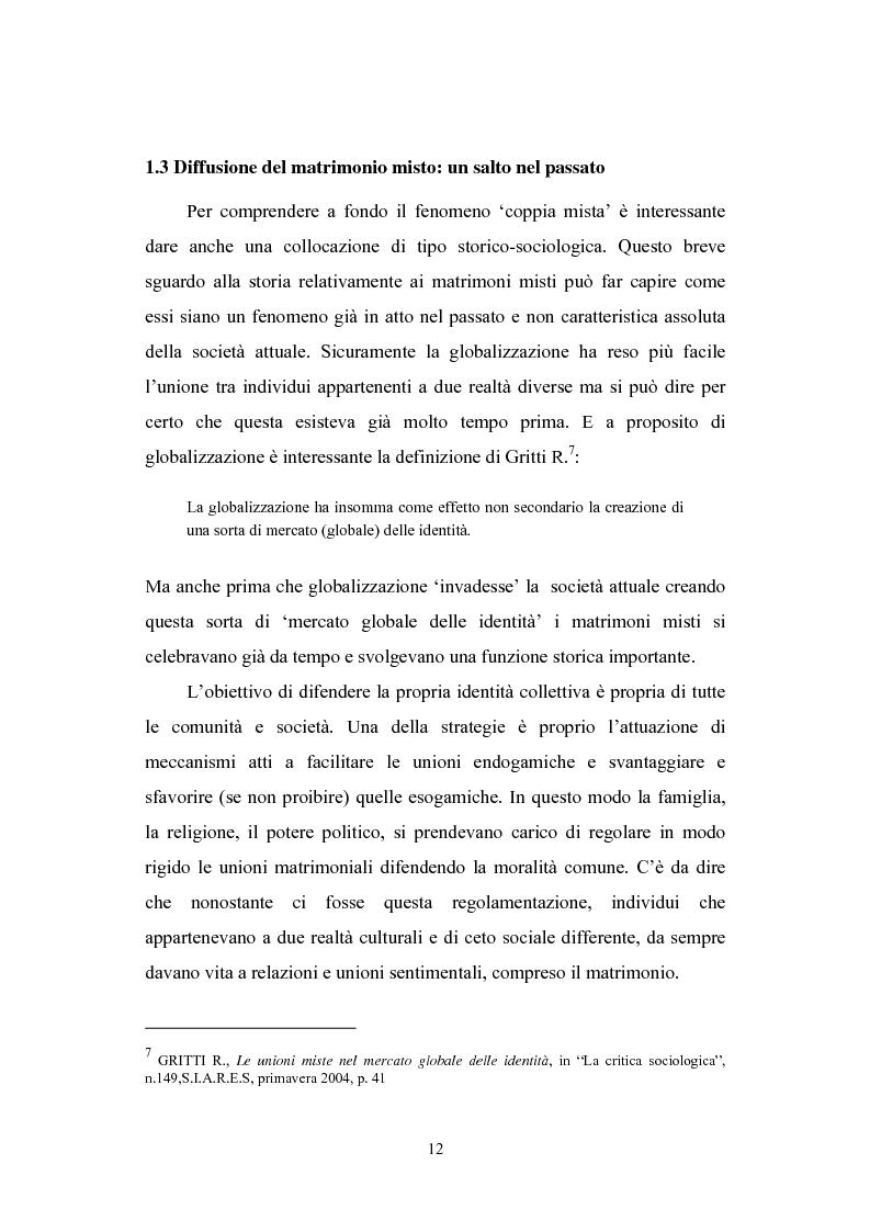 Anteprima della tesi: E se Romeo si chiamasse Alì? Le coppie italo-musulmane, Pagina 8