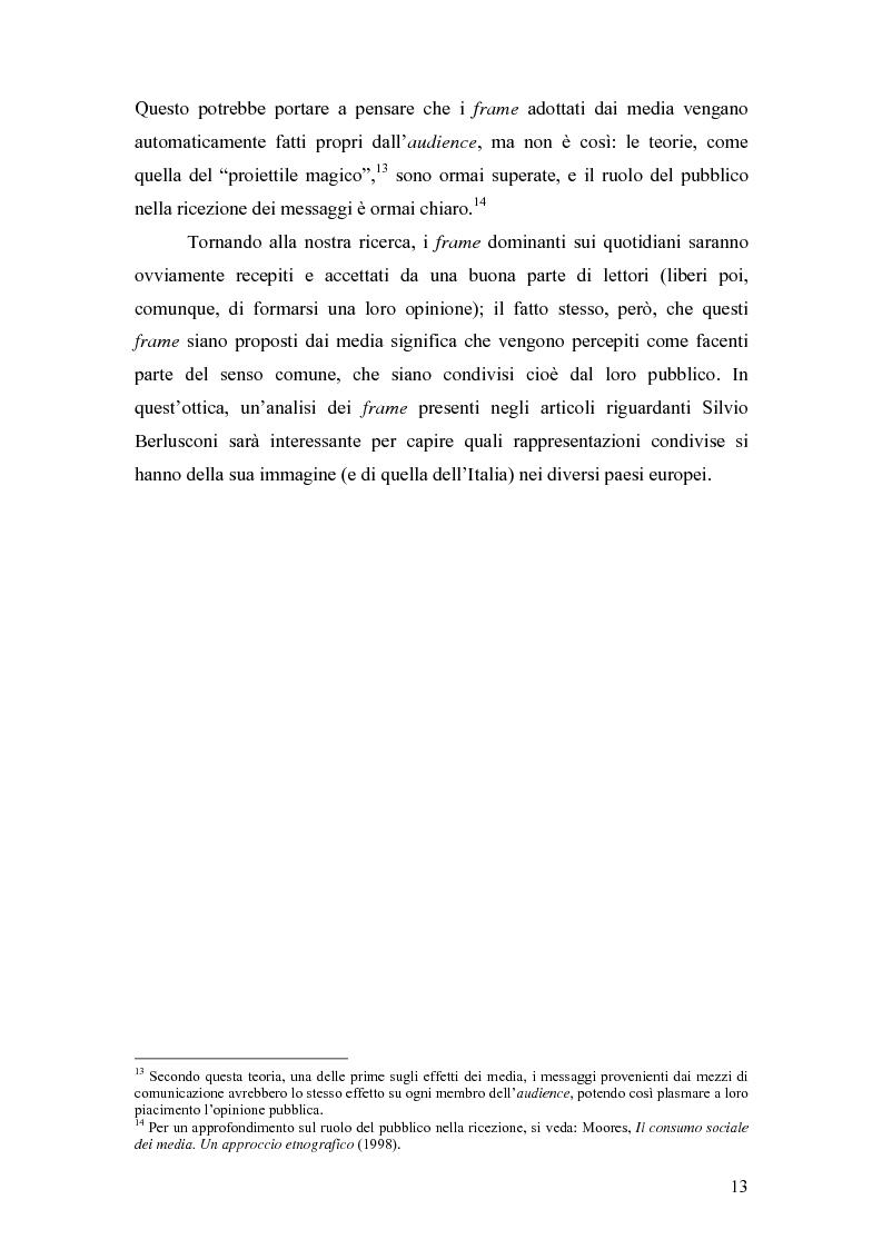 Anteprima della tesi: ''So, Mr. Berlusconi?'' La stampa estera e il semestre di presidenza italiana in Europa, Pagina 13