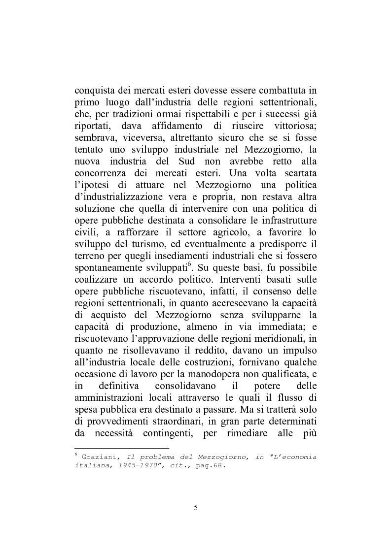 Anteprima della tesi: I Finanziamenti agevolati alle PMI nel Mezzogiorno, Pagina 10