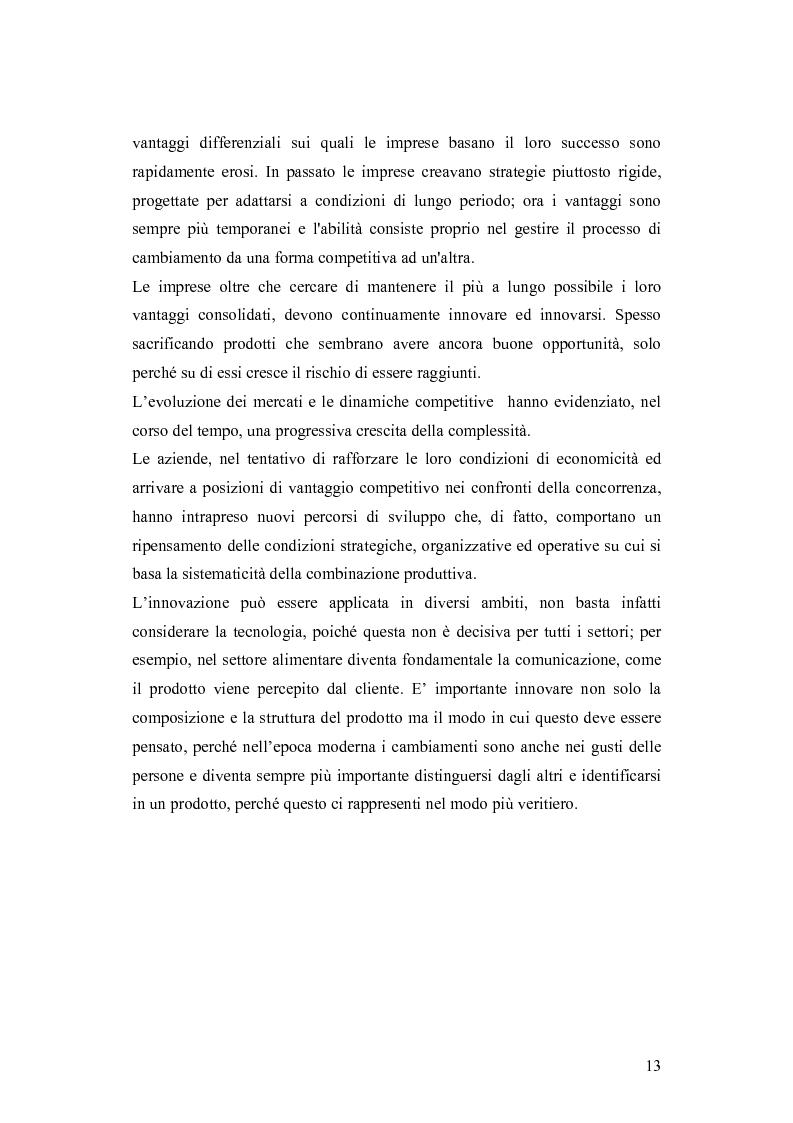 Anteprima della tesi: Le dinamiche competitive e le strategie di ingresso nel settore degli yogurt: il ruolo dell'innovazione dei modelli di business, Pagina 10