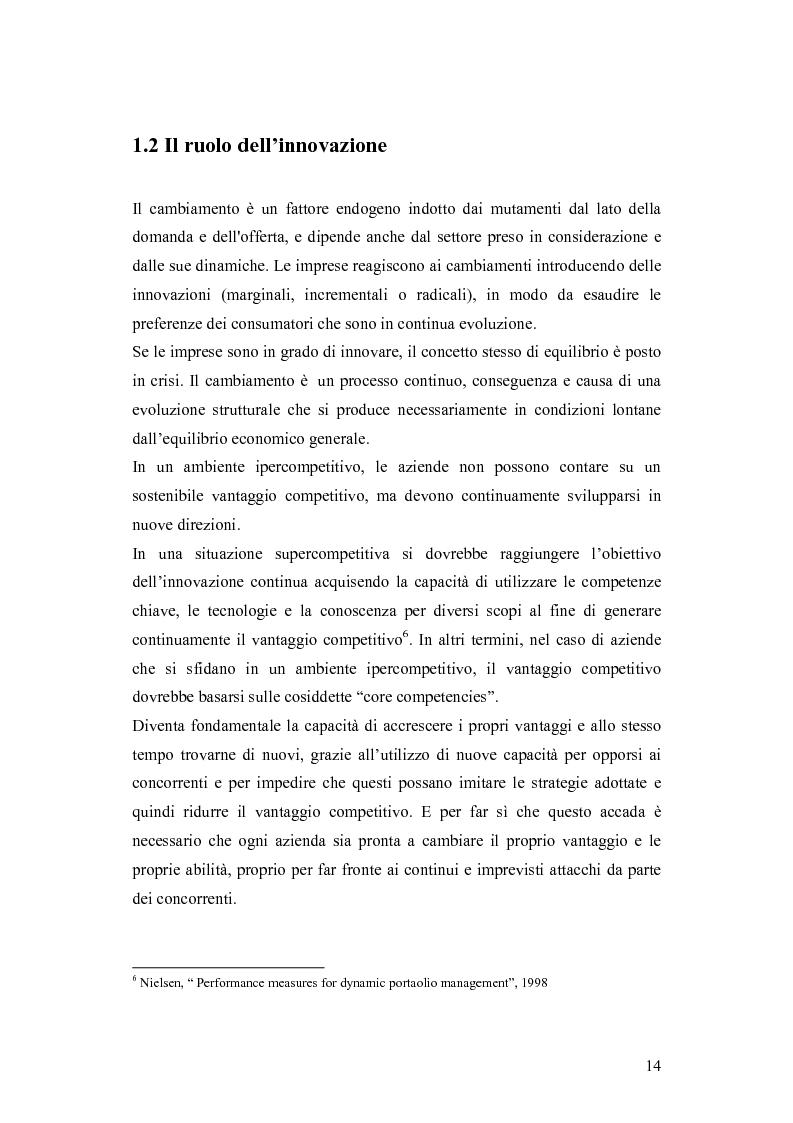 Anteprima della tesi: Le dinamiche competitive e le strategie di ingresso nel settore degli yogurt: il ruolo dell'innovazione dei modelli di business, Pagina 11
