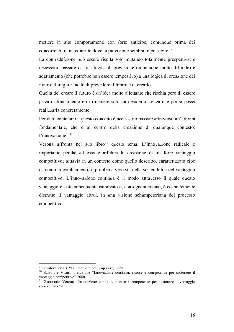 Anteprima della tesi: Le dinamiche competitive e le strategie di ingresso nel settore degli yogurt: il ruolo dell'innovazione dei modelli di business, Pagina 13