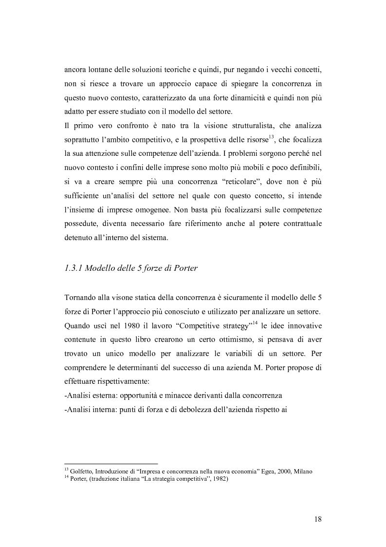 Anteprima della tesi: Le dinamiche competitive e le strategie di ingresso nel settore degli yogurt: il ruolo dell'innovazione dei modelli di business, Pagina 15