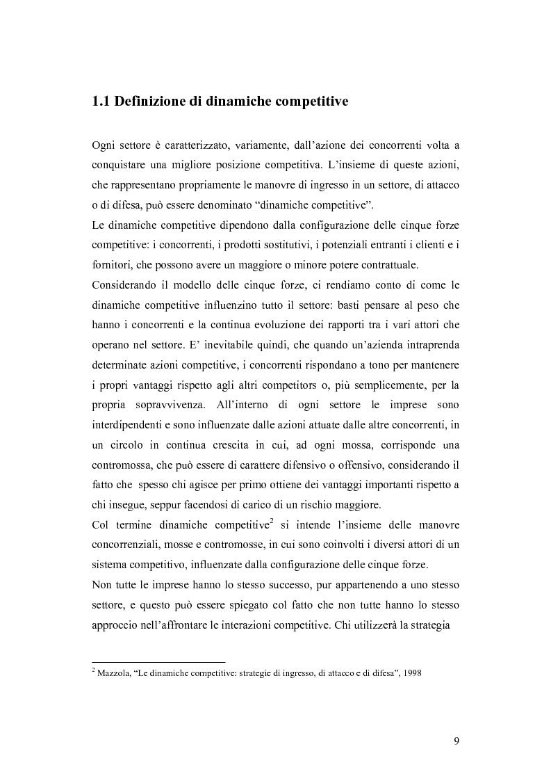Anteprima della tesi: Le dinamiche competitive e le strategie di ingresso nel settore degli yogurt: il ruolo dell'innovazione dei modelli di business, Pagina 6