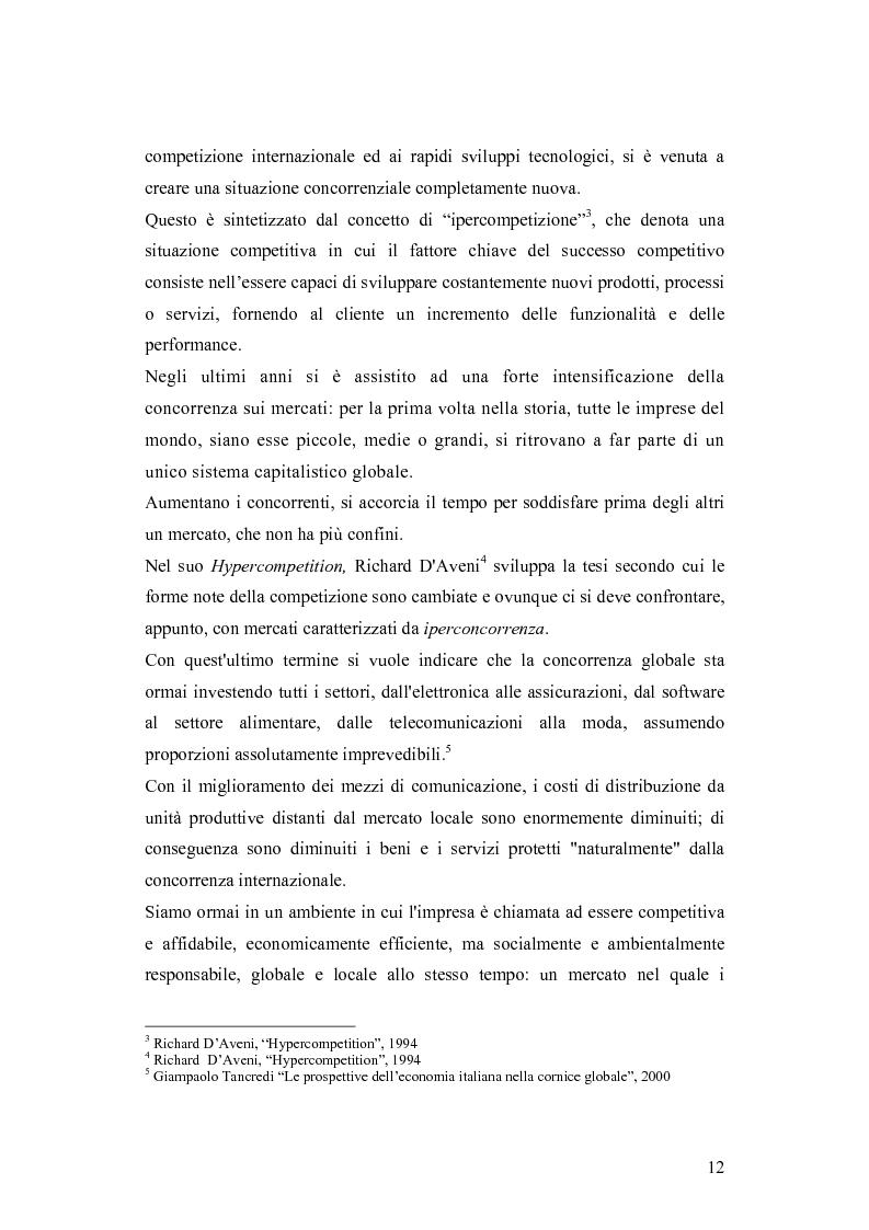 Anteprima della tesi: Le dinamiche competitive e le strategie di ingresso nel settore degli yogurt: il ruolo dell'innovazione dei modelli di business, Pagina 9