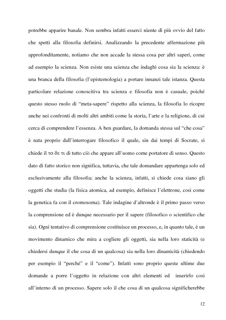 Anteprima della tesi: Husserl storico della filosofia, Pagina 10