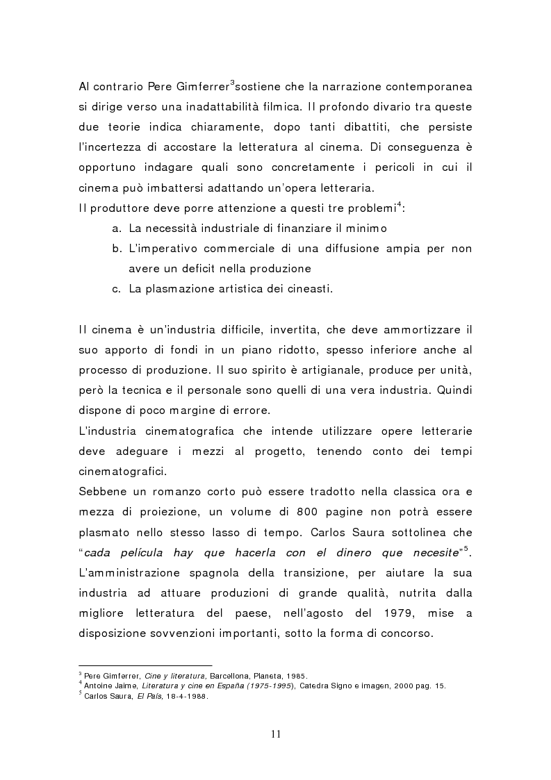 Anteprima della tesi: Federico García Lorca: Bodas de Sangre, dal testo letterario al testo filmico, Pagina 6