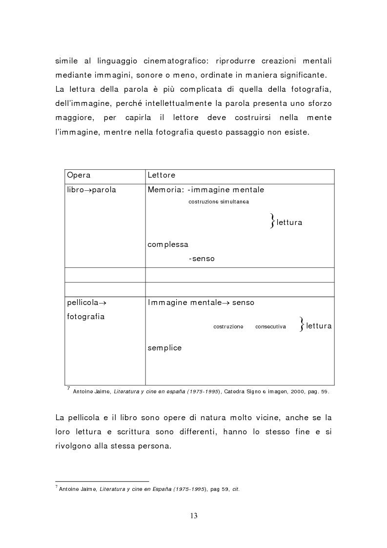 Anteprima della tesi: Federico García Lorca: Bodas de Sangre, dal testo letterario al testo filmico, Pagina 8