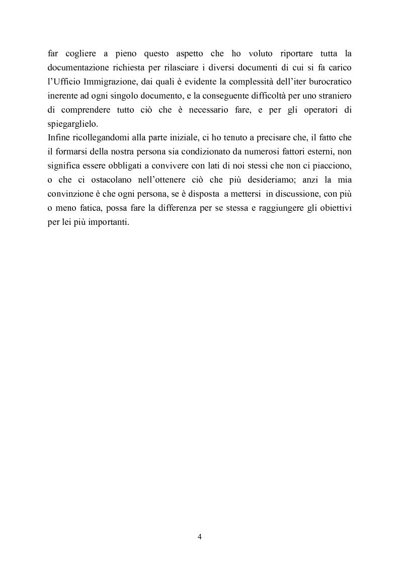 Anteprima della tesi: Ufficio Stranieri: una umanità professionale nascosta, Pagina 2