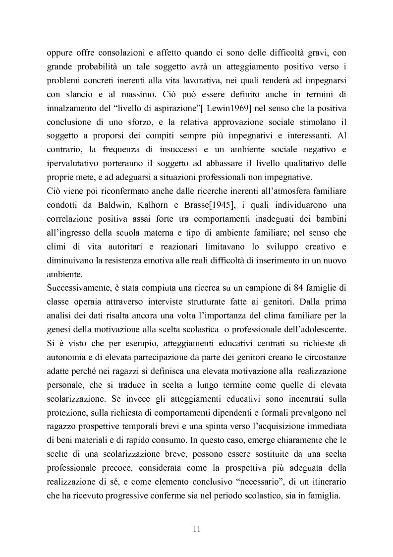 Anteprima della tesi: Ufficio Stranieri: una umanità professionale nascosta, Pagina 9