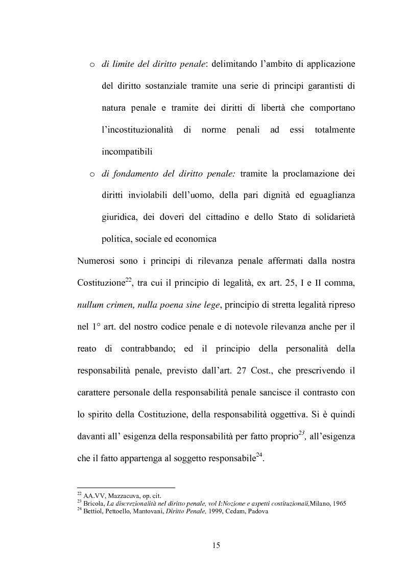 Anteprima della tesi: Il contrabbando di tabacchi lavorati esteri ex art. 291bis, Pagina 11