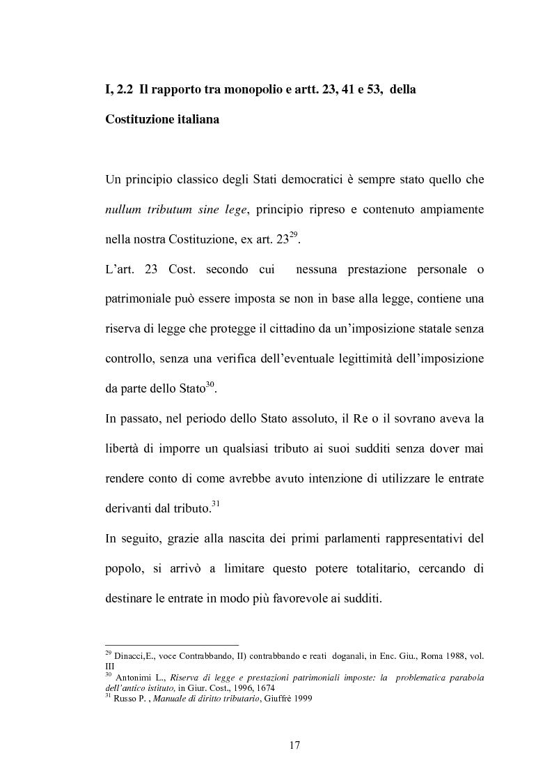 Anteprima della tesi: Il contrabbando di tabacchi lavorati esteri ex art. 291bis, Pagina 13