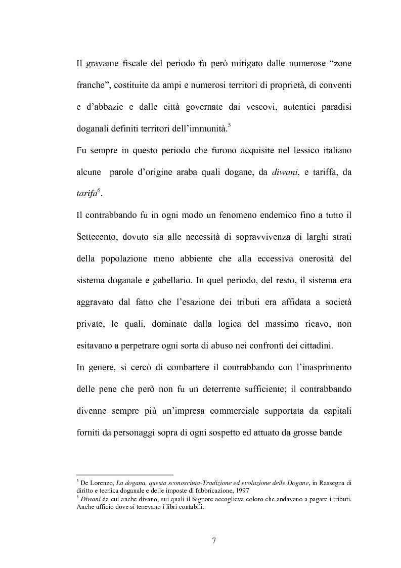 Anteprima della tesi: Il contrabbando di tabacchi lavorati esteri ex art. 291bis, Pagina 3