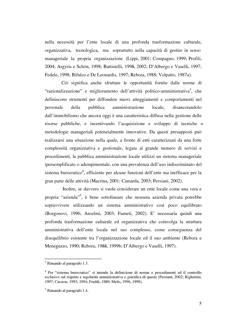 Anteprima della tesi: Il controllo di gestione nell'amministrazione del governo locale, Pagina 11