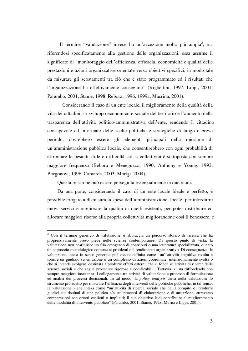 Anteprima della tesi: Il controllo di gestione nell'amministrazione del governo locale, Pagina 9
