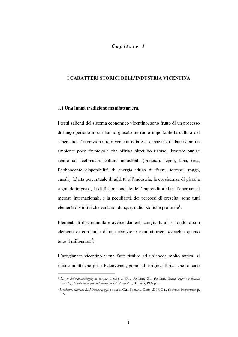 Anteprima della tesi: Evoluzione e trasformazioni del meccanico vicentino dal secondo dopoguerra al duemila, Pagina 1