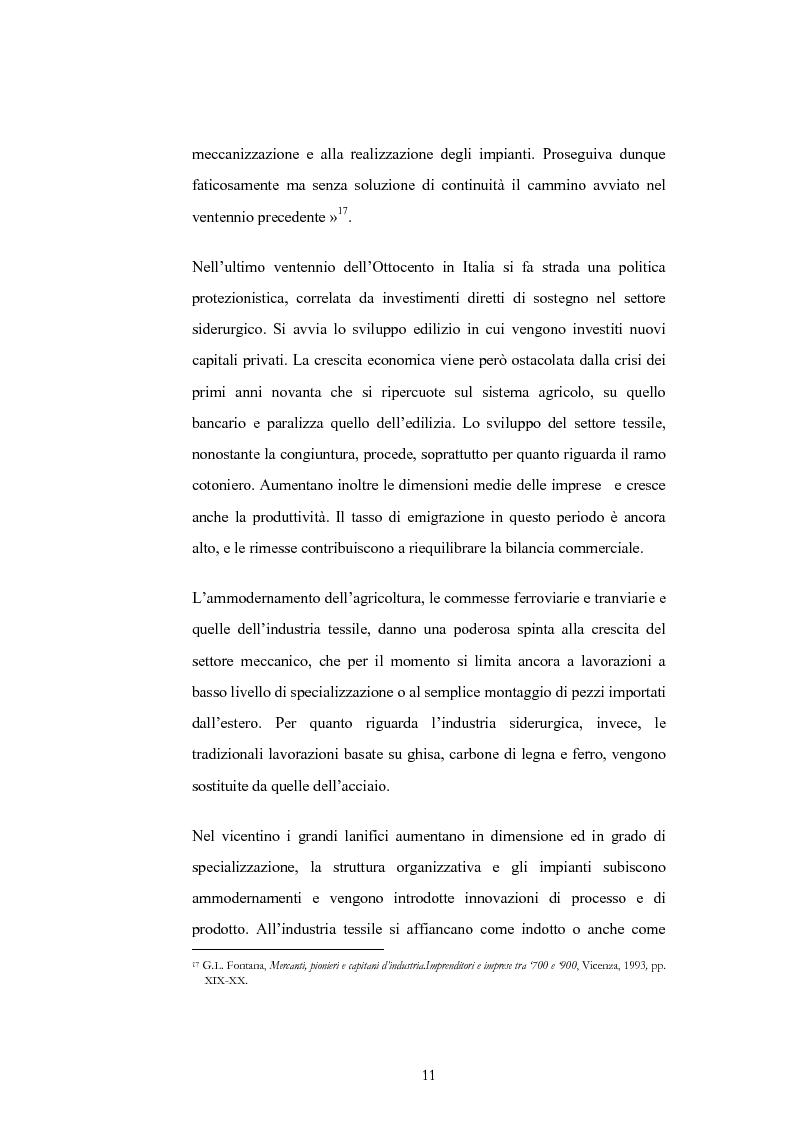 Anteprima della tesi: Evoluzione e trasformazioni del meccanico vicentino dal secondo dopoguerra al duemila, Pagina 11